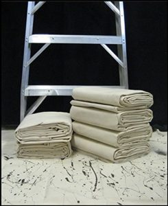Canvas Drop Cloth Ducking for Clay Ceramics Pottery