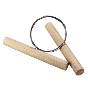 Wooden Cutting Wire for Clay Pottery Sculpture