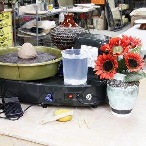 Portable Table Top Pottery Wheel
