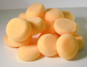 Round Synthetic Silk Sponges Throwing Pottery